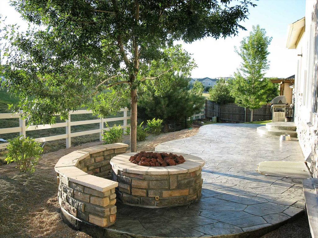 Outdoor Firepit and Patio - Denver, CO