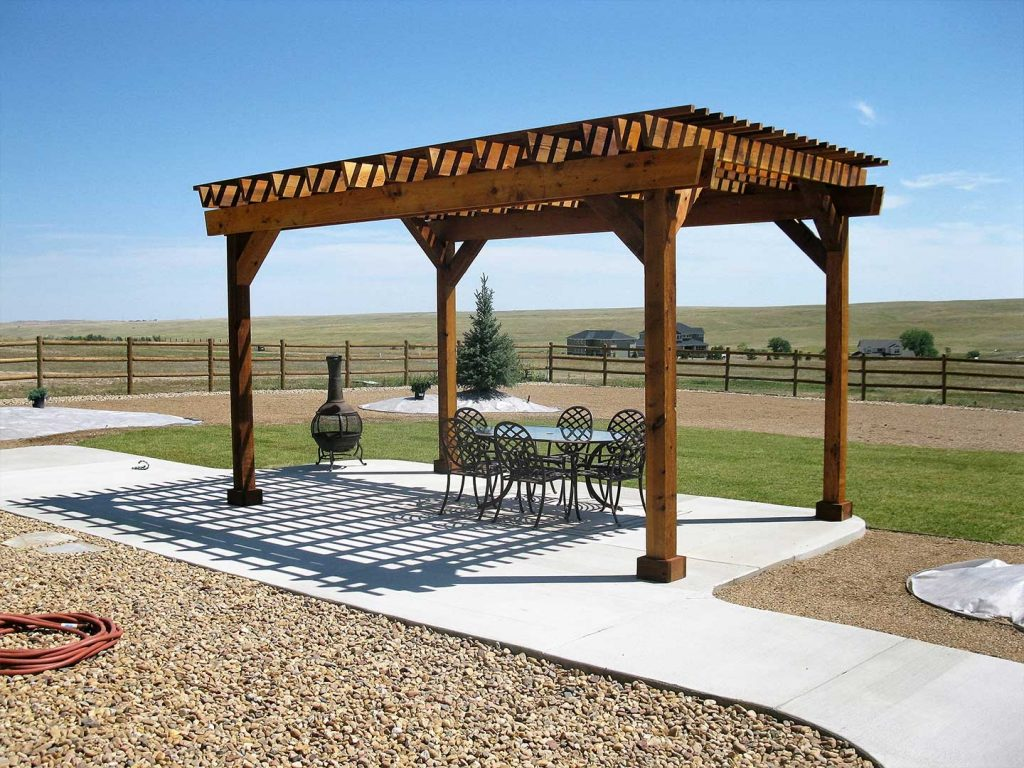 Custom Pergola and Landscaping - Denver, CO