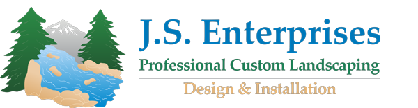 JS Enterprises Professional Custom Landscaping Logo