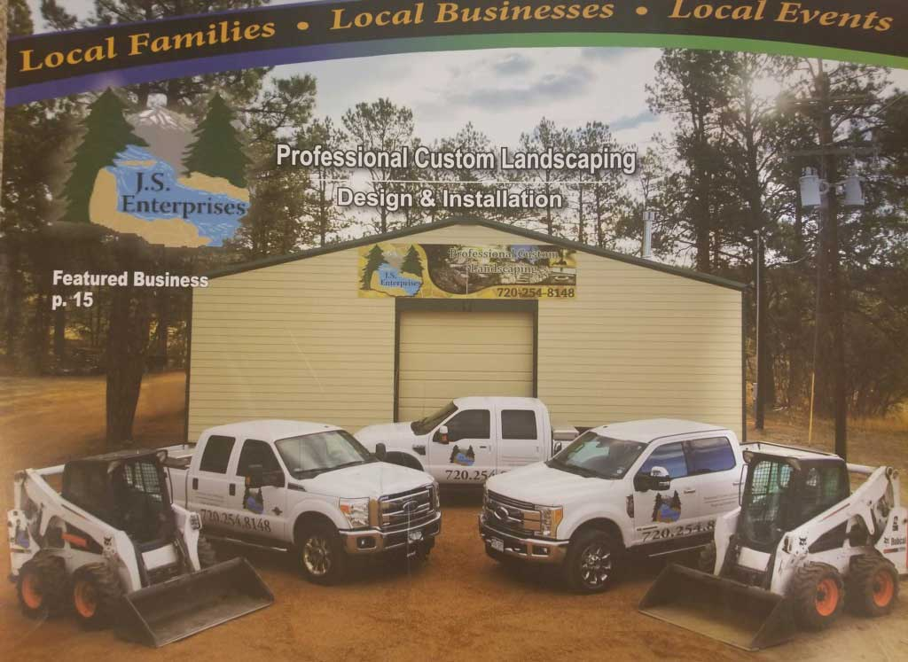 JS Enterprise Trucks - Custom Landscaping Larkspur, CO